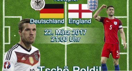 Liveticker heute Deutschland gegen England (im ARD live-Stream)