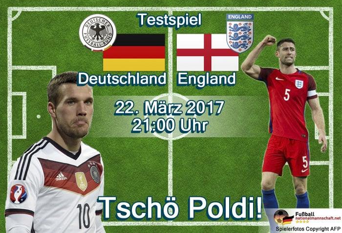 Länderspiel Deutschland gegen England am 22.03.2017 (Fotos der Spieler AFP)