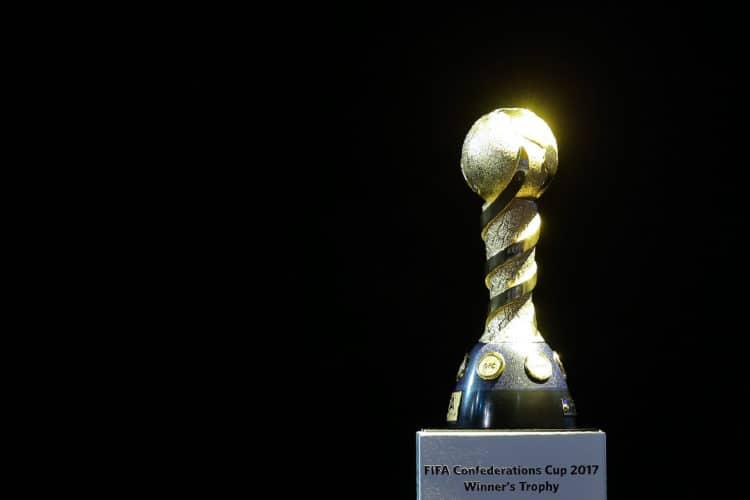 Bisher scheint es als würden die 8 Teams, die im Sommer um den Confed Cup in Russland spielen vor vergleichsweise leeren Rängen auftreten müssen. / AFP PHOTO / Roman Kruchinin