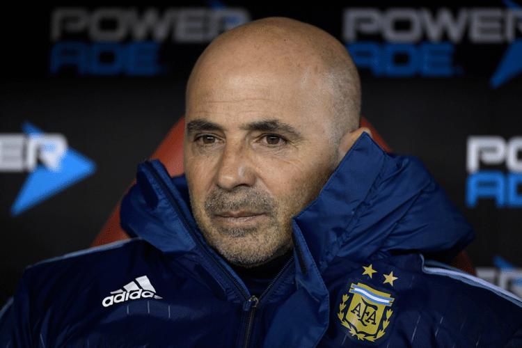 Der neue Trainer von Argentinien: Jorge Sampaoli - er soll die WM-Qualifikation 2018 sichern. / AFP PHOTO / Juan Mabromata