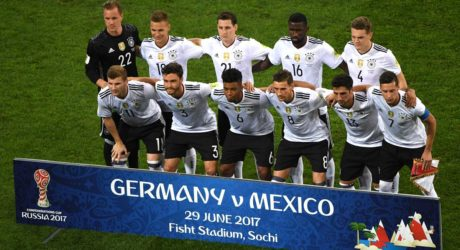 Spielbericht Confed-Cup Halbfinale Deutschland – Mexiko 4:1