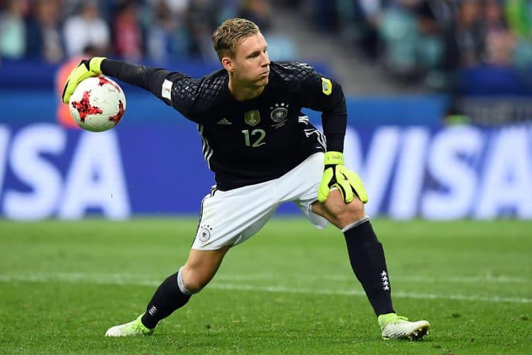 Ein Abend zum Vergessen für Bernd Leno. Beim 3:2 Sieg von Deutschlang gegen Australien beim Confed-Cup am 19.06.2017 war er maßgeblich an beiden Gegentoren beteiligt. Photo: AFP