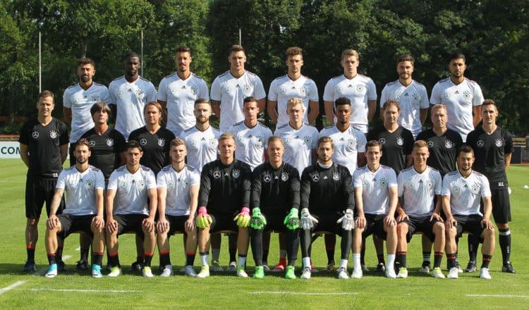 Der DFB-Kader zum Confed Cup 2017 (Foto AFP)