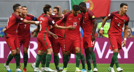 Fussball heute Abend: Confed-Cup Russland – Portugal