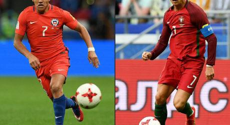 Fussball heute Abend: Confed-Cup Halbfinale Portugal – Chile 0:3