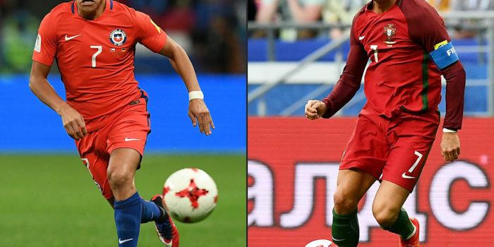 Fussball heute Abend: Confed-Cup Halbfinale Portugal – Chile
