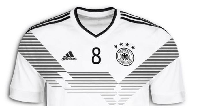 Das neue Trikot der Nationalmannschaft für die WM 2018 in Russland. (Copyright WAZ)