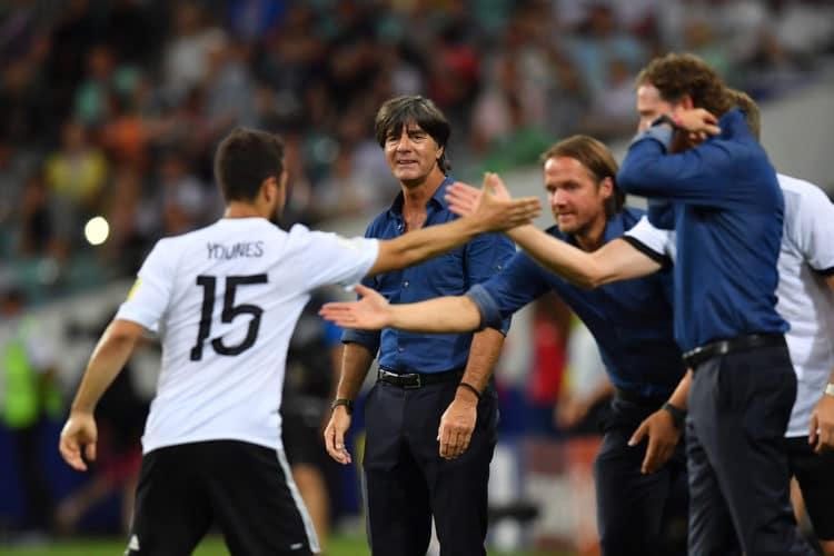 Die deutsche Fußballnationalmannschaft steht im Finale des Confed Cups 2017 (Foto AFP)