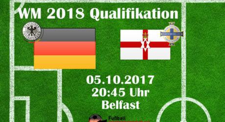 Länderspiel morgen: Deutschland gegen Nordirland