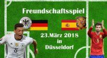 Fussball heute: Länderspiel Deutschland – Spanien – Die Aufstellungen