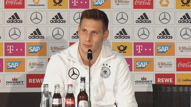 Niklas Süle auf der DFB-Pressekonferenz