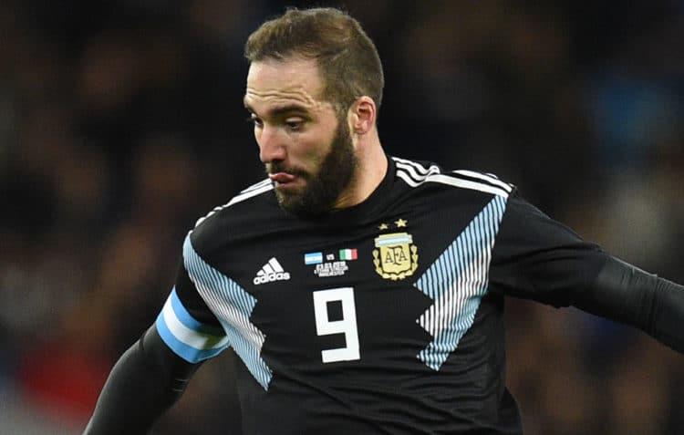 Argentinien erwischte gegen Spanien einen Rabenschwarzen tag. Mit 6:1 wurde man vom Platz gefegt. Photo: AFP.