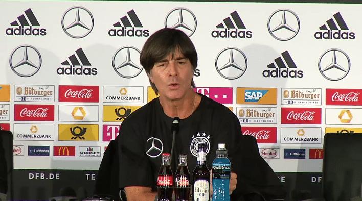 DFB-Pressekonferenz Livestream zum Länderspiel: Deutschland vs Brasilien