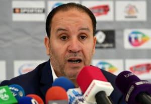 Nabil Maaloul, der Trainer Tunesiens im Interview. Photo: AFP.