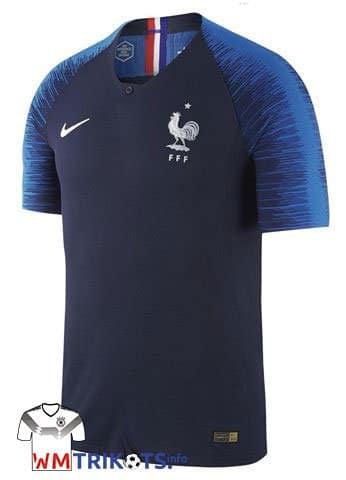 Das neue Frankreich WM 2018 Heimtrikot von Nike. Photo: Nike.