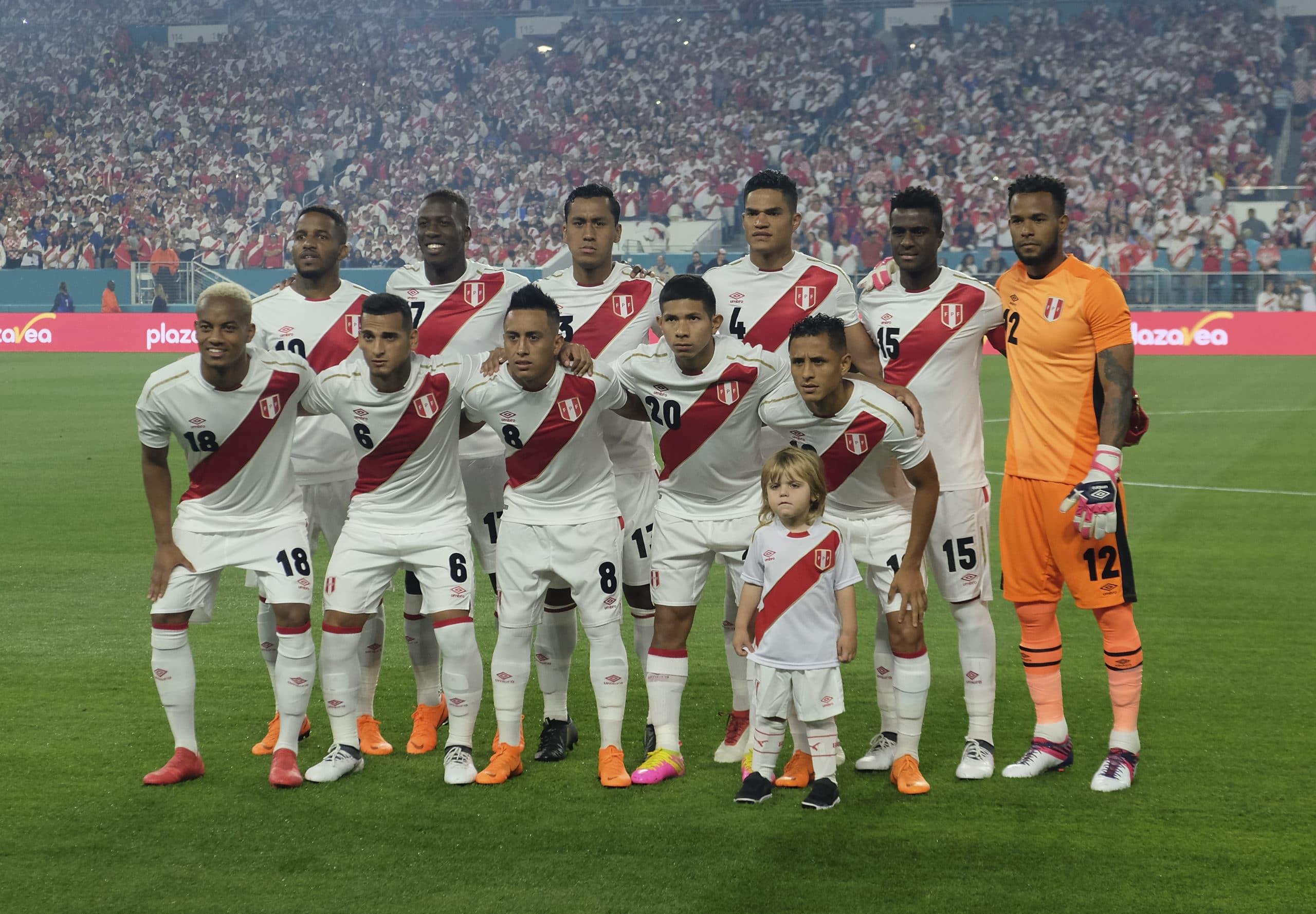 Länderspiel Peru