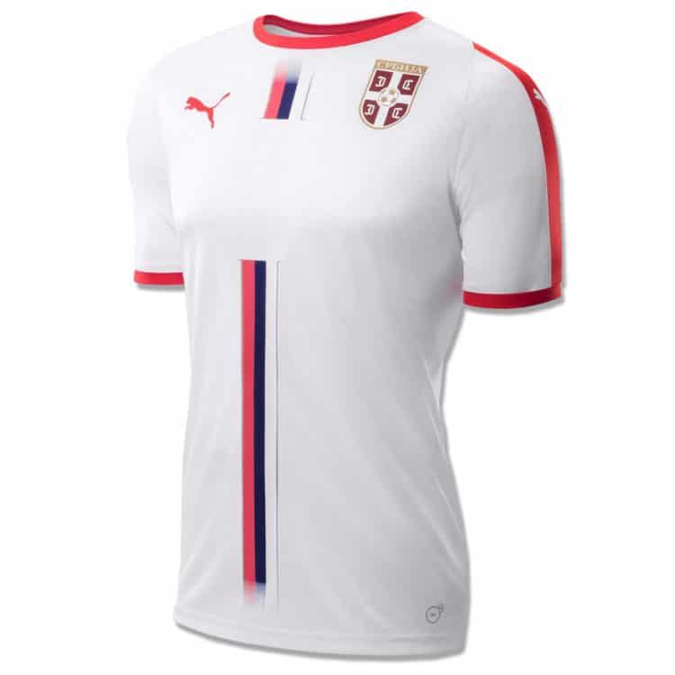 Das neue Serbien WM 2018 Auswärtstrikot von Puma.
