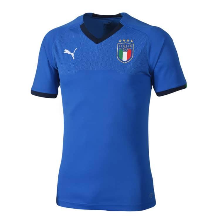 Italiens 2018 Heimtrikot von Puma. Photo: Puma.