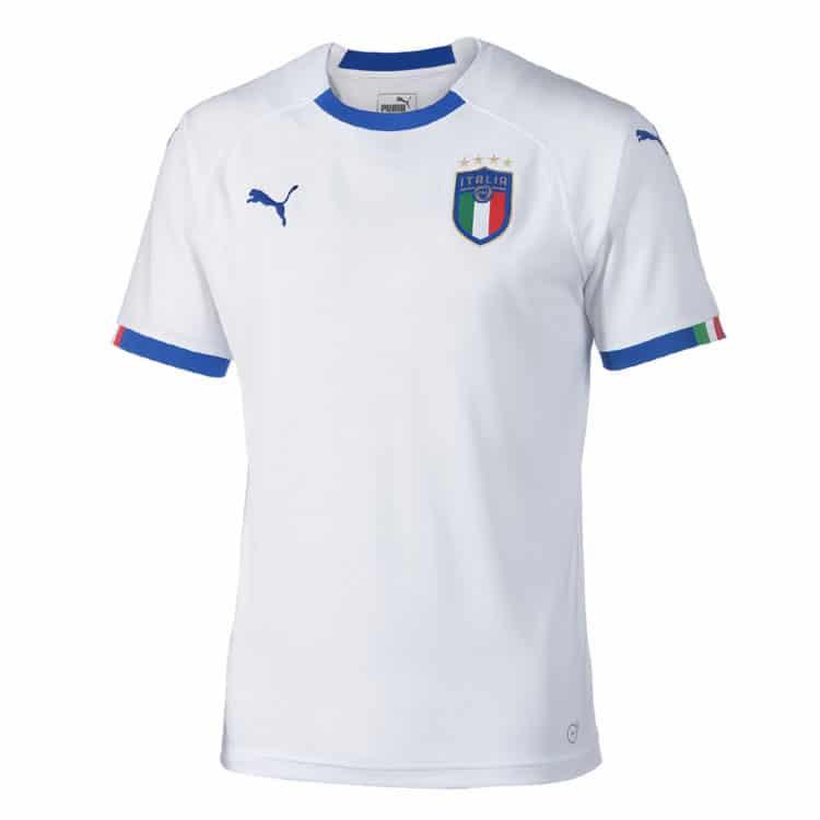 Italiens neues 2018 Auswärtstrikot von Puma. Photo: Puma.