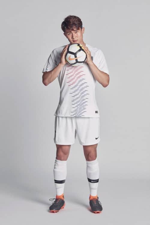 Das neue Auswärtstrikot Südkoreas für die WM 2018 von Nike. Photo: Nike Presse.