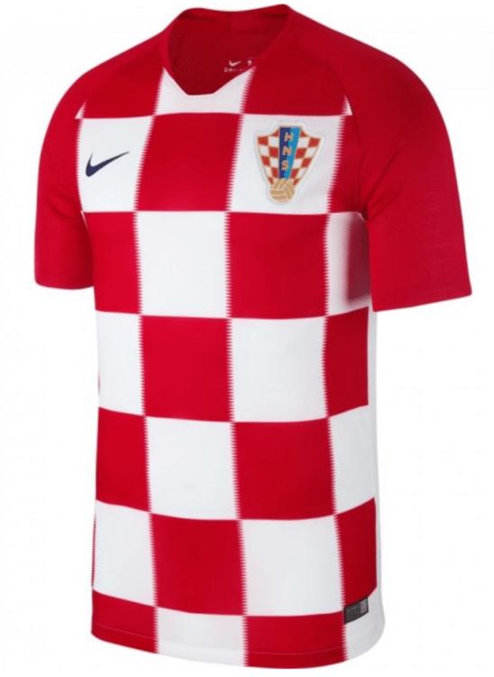 Kroatiens neues Heimtrikot von Nike für die WM 2018. Photo: Nike.