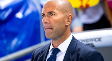 Zinedine Zidane von Real Madrid : Rücktritt!