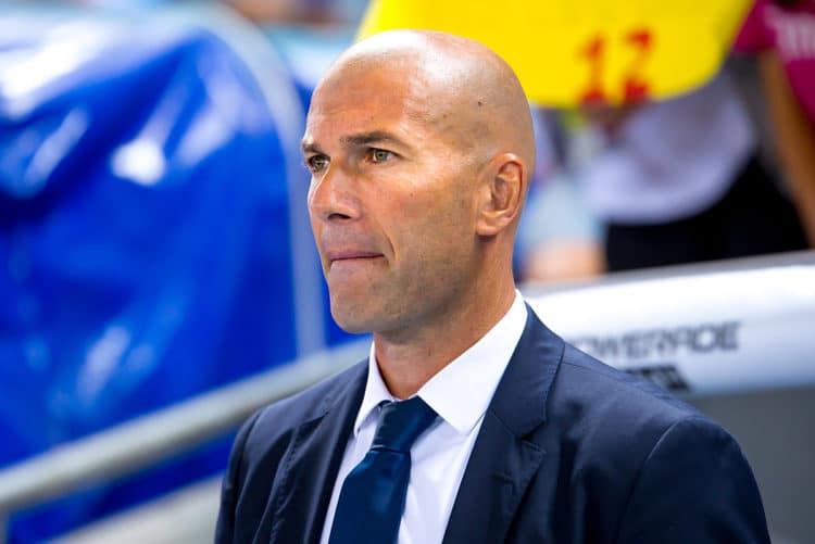 Der Trainer der Königlichen tritt zurück! Der Franzose Zinédine Zidane – keines seiner acht Endspiele verlor er, gewann drei Mal die Champions League.(Foto Shutterstock)