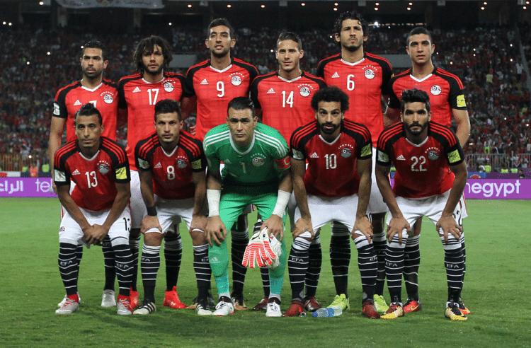 Fußball WM heute 19.6. im TV * Wann kommt die WM heute im TV? Ägypten spielt heute gegen Gastgeber Russland in St.Petersburg / AFP PHOTO / Mohamed El-Shahed