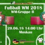 Fußball heute: Portugal gegen Marokko um 20 Uhr im Ersten.