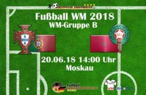 Fußball heute: Portugal gegen Marokko um 14 Uhr im Ersten.