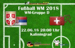 Fußball heute um 20 Uhr: Serbien gegen die Schweiz.
