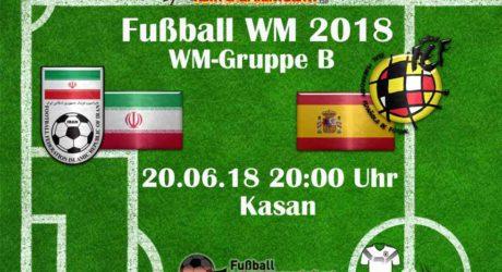 Fußball WM heute 20.6. im TV * Wann kommt die WM heute im TV? ARD live