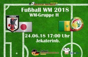 Fußball heute: Japan gegen Senegal um 17 Uhr.