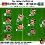 Länderspiel heute * Wann spielt Deutschland gegen Schweden?