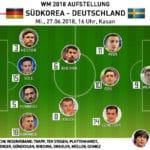 Aufstellung heute: Länderspiel Deutschland - Südkorea * Wer spielt heute für Deutschland?