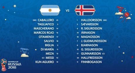 Aufstellung heute: Argentinien gegen Island – Fußball WM 2018 Trikots