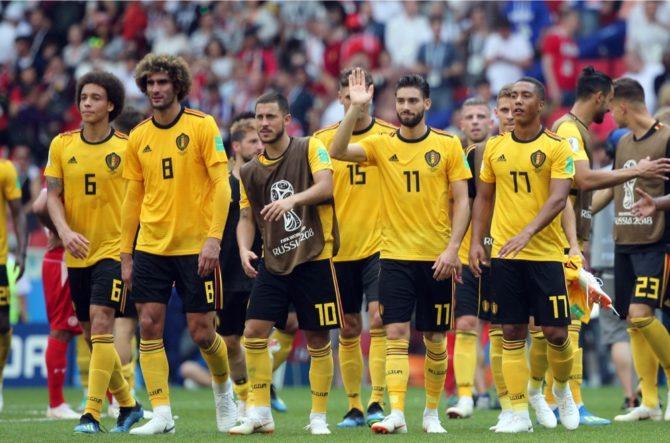 Belgien nach dem 5:2 gegen Tunesien - Einzug ins WM-Achtelfinale steht fest! (Marco Iacobucci EPP)