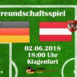 1:2 Liveticker Länderspiel heute Deutschland - Österreich ab 19:30 Uhr im ZDF Live