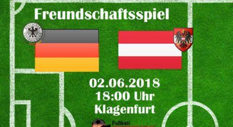 1:2 Liveticker Länderspiel heute Deutschland – Österreich ab 19:30 Uhr im ZDF Live