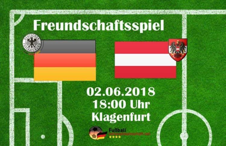 Deutschland gegen Österreich - das Länderspiel heute bei uns im Liveticker.