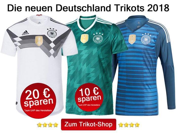 Die neuen WM 2018 Trikots