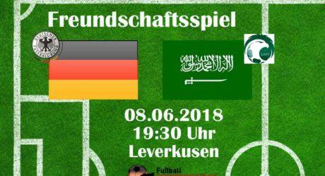 ARD live: Deutschland gegen Saudi Arabien im Free-TV ab 19 Uhr