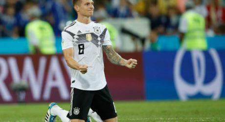 Sieg durch Toni Kroos! Deutschland gegen Schweden 2:1