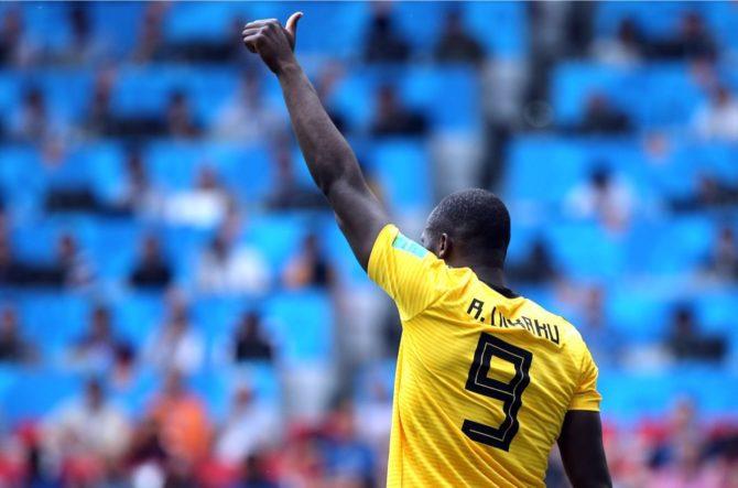 Romelu Lukaku mit der Nummer 9 im Belgien Trikot 2018 von adidas (Marco Iacobucci EPP)