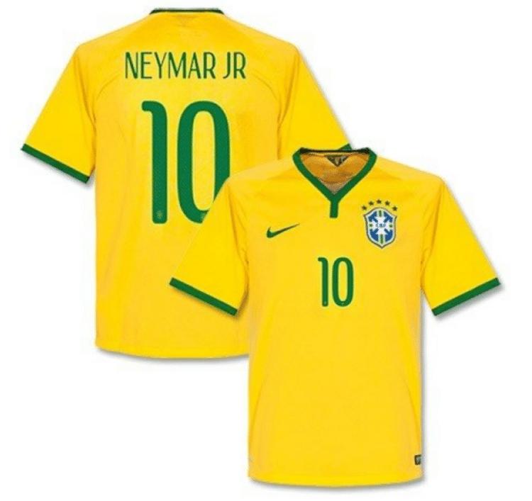 Das neue Neymar Brasilien Trikot 2018