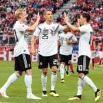 Letzte Weltrangliste vor der WM: Deutschland weiterhin auf 1