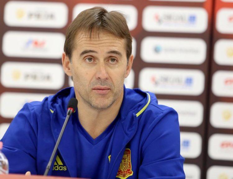 Spaniens Trainer Julen Lopetegui (51) ist nicht mehr Trainer der Spanier. (foto afp)