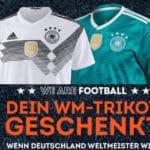 Sport Scheck WM 2018 Gewinnspiel: Das neue Deutschland Trikot gratis...
