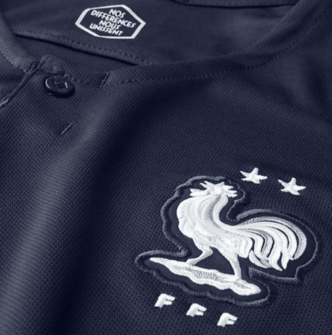 Das neue Frankreich WM Trikot 2018 mit 2 Sternen!