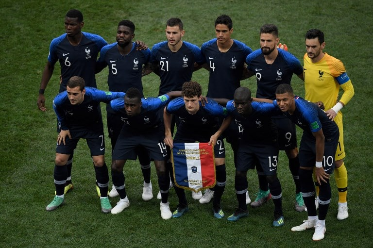 Frankreich Nationalteam
